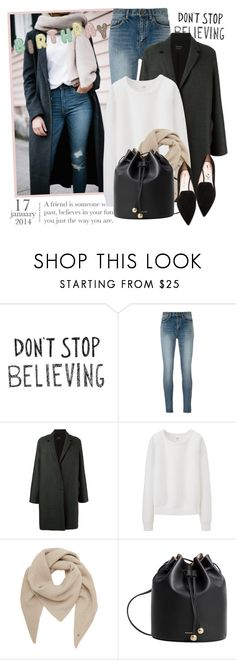 """""""2506. Happy Birthday to me ..."""" by chocolatepumma ❤ liked on Polyvore featuring Yves Saint Laurent, Lanvin, Uniqlo, Mulberry, MANGO and Nicholas Kirkwood"""