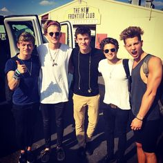 The Vamps and Shawn Mendes