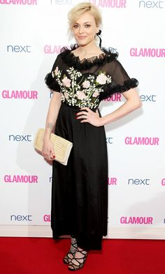 Fearne Cotton goes floral at The Glamour Women of the Year Awards