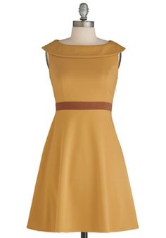 I Am What I Amber Dress.  ($62.99)  Simple lines.  This would be nice to pair with a long necklace (like my Undine By The Sea locket).  Got it 70% off.  :)