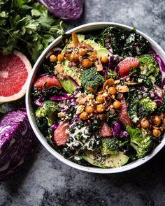 mean green detox salad, halfbakedharvest.com.