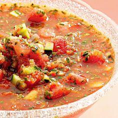 Watermelon Gazpacho - Fitnessmagazine.com