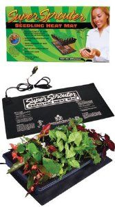 Super Sprouter Seedling Heat Mat by Sun Systems. $25.41. Warms root area approximately 10° - 20° F over ambient temperature to improve germination process. ###############################################################################################################################################################################################################################################################