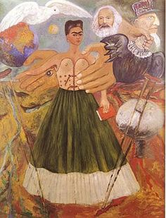 Frida Kahlo Marxism Will Give Health to the Sick 1954
