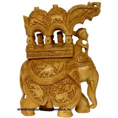 Wooden Ambabari Statue with Shikhar Carving – A Masterpiece in Wooden Handicrafts — handicrafts in india