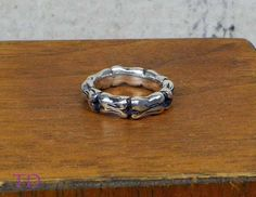 Sterling Silver Baby Bones Ring, Little Bones Ring, Pinky Ring, or Tiny Finger Ring, Size 3 1/4, $69.00