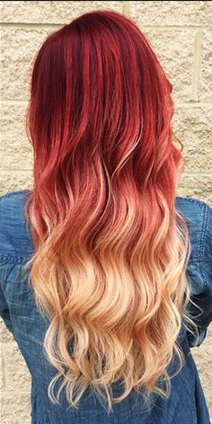 LOVING this ombre color! Does this scream summer, or does this scream summer?