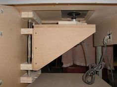 home made router table idea
