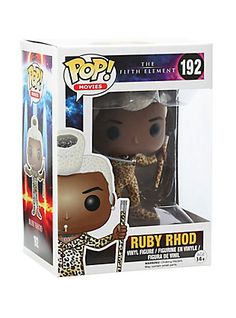 Funko The Fifth Element Pop! Movies Ruby Rhod Vinyl Figure,