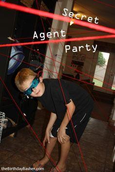 Lasers. #VBS #Spy