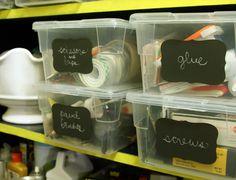 Martha Stewart for Avery chalkboard labels