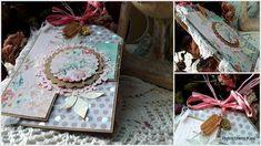 Rękodzieło- wystrój wnętrz,decoupage,cardmakig,kosmetyki, mydła,blog, blogspot , : Kartka tagowa Cardmaking, Decoupage, Shabby Chic, Scrapbooking, Gift Wrapping, Blog, Gifts, Paper Wrapping, Making Cards