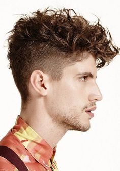 25 Wavy Haircuts for mens 2018