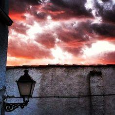 Cielo rojo....