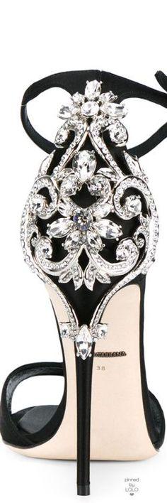 Jeweled Dolce & Gabanna Heel #luxury #luxurylifestyle #luxuryliving