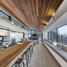 Contemporary Weekend Ski Chalet Designed for Fun Family Time | Ski ...