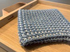 Karklud i vævestrik - få strikkeopskrift her - Strikker.dk Knitwear, Blanket, Knitting, Crochet, Tejidos, Threading, Creative, Deco, Tricot