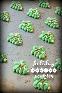 Holiday Spritz Cookies -- classic for a good reason!