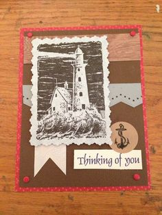 Stampin up lighthouse