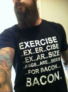 Beard. And Bacon.   Courtesy Redneck Inventions, Facebook.