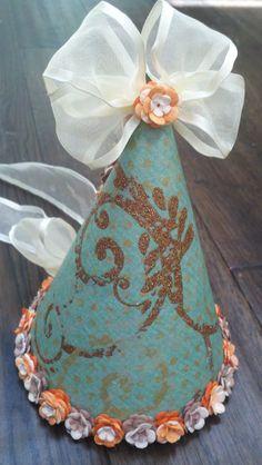 girls fairyland vintage birthday hat photo by babyyourbabyboutique, $30.00