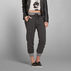 Womens Eve Textured Joggers