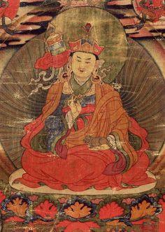 Padmasambhava as Vaishravana (pe ma jung ne), the Lotus Born