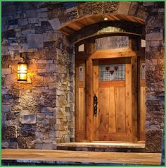 Knotty Alder Wood Door By Architectural Traditions - Interior Home ...