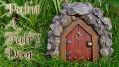 Paint A Fairy Door In this video a fairy door is painted using dry brush techniques along with regular painting techniques. The fairy door is made with concrete and is casted from an original fairy door created by Dramamask Delusions. The YouTube video which shows how to create the door can be found at this link on this channel: https://youtu.be/8kBPGXjU8kw