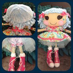 # DIY lalaloopsy dolls...I will make one! @Autumn Eaken Wallace trav totally needs to make maleaha her own custom lalaloopsy doll