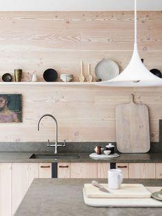Aujourd'hui j'aime: les cuisines en contre-plaqué