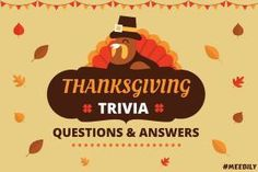Test your knowledge related to Thanksgiving by answering the Thanksgiving trivia questions and answers in this article! Family Trivia Questions, Thanksgiving Trivia Questions, Jeopardy Questions, Holiday Trivia, Thanksgiving Fun Facts, Thanksgiving Birthday, Happy Thanksgiving, Quizzes For Kids, Fun Party Games