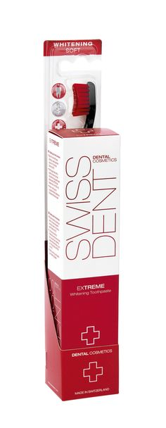 Swissdent Extreme Combo Pack Contains: Swissdent Extreme toothpaste 50ml Swissdent PROFI toothbrush  RRP AUD$19
