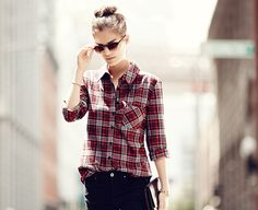 Atwell Flannel Button Down Shirt