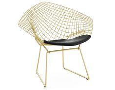 Bildergebnis für bertoia diamond chair