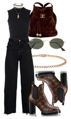 """""""#Look:#453"""" by dollarwomanlux ❤ liked on Polyvore featuring Cartier, Chanel, adidas Originals, RE/DONE, Ray-Ban, Charlotte Russe, ASOS and Carbon & Hyde"""