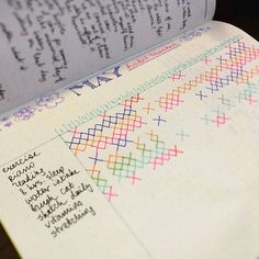 Habit trackers and bullet journals. Things you're not putting in your planner that you should