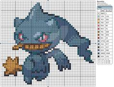 Pokemon - Banette by Makibird-Stitching