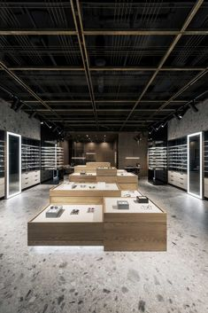Spex Eyewear Showroom with #Iseo collection by #Inalco #MDi #StyleIn #Inalcoproject