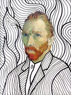 Van Gogh FREE Head Template