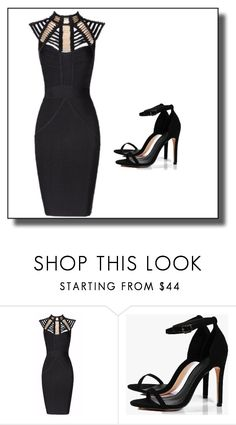"""""""Untitled #1"""" by dzemila-c ❤ liked on Polyvore featuring Posh Girl and Boohoo"""