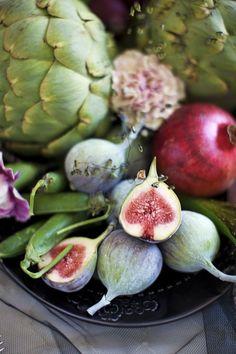 Figs, Pomegranate, Artichoke