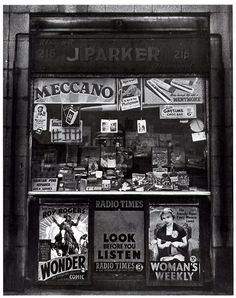 Newsagent, 1940s, London. We love shops and shopping. That's it - theretailpractice.com, www.facebook.com/shoppedinternational and www.twitter.com/shopped