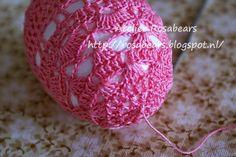 Tutorial crochet Easter Eggs....gehaakte paaseieren.