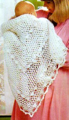 Les églises sont souvent fraîches, il peut être intéressant de protéger bébé grâce à un joli châle : Le châle rose Le châle aux cerises Le châle blanc Le châle carré