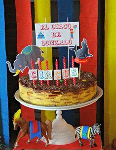 fiesta tematica infantil circo