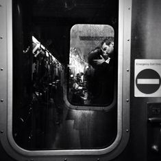 there's a lotta love in my blood - fotogrimsi: NYC Subway by Clay Benskin You Are The Sun, Love Is In The Air, S Bahn, Nyc Subway, Street Photographers, The Villain, Moma, Couple Photography, Window Photography