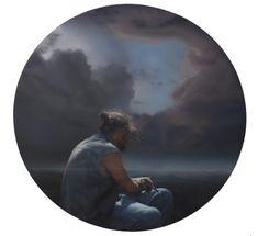 paintings - SEAMUS CONLEY Caspar David Friedrich, Love Art, Mona Lisa, Paintings, Artwork, Work Of Art, Painting Art, Painting, Paint