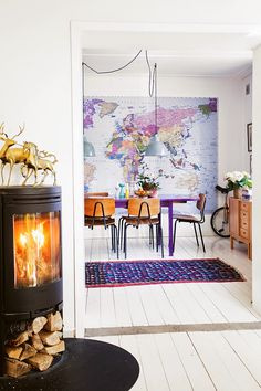Interiors: Colorful and Budget-Friendly Home
