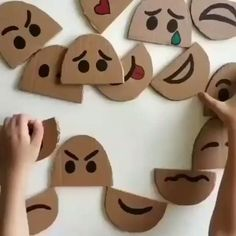 Toddler Learning Activities, Montessori Activities, Craft Activities For Kids, Preschool Activities, Art Projects For Toddlers, Activities For 3 Year Olds, Emotions Preschool, Social Emotional Activities, Emotions Activities